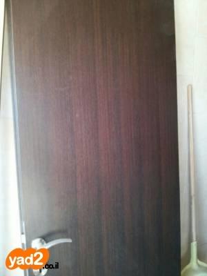 מאוד דלתות פנדור בצבע חום כהה ריהוט פנים יד שניה - ad XO-45