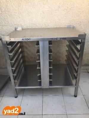 סנסציוני שולחנות נירוסטה קטנים 63/60 3 ציוד לעסקים מטבח תעשייתי יד שניה - ad QU-95
