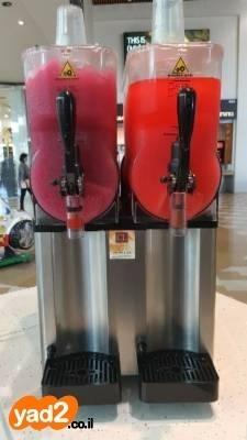 מיוחדים מכונת ברד 2 ראשים נירכשה ציוד לעסקים שתייה יד שניה - ad TW-28