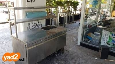 מפואר כיור נירוסטה מקרר שוכב מקרר סלטיה תנור אפיה כסאות ציוד לעסקים BQ-07