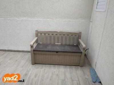 ניס ספסל של כתר נפתח לארגז לגינה ריהוט יד שניה - ad KW-77