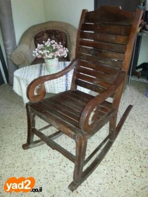 כולם חדשים כסא נדנדה מעץ מלא ריהוט כיסא יד שניה - ad UU-31