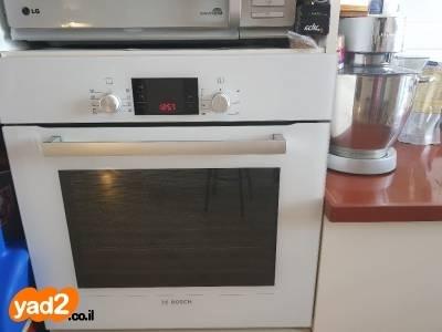 מדהים תנור בוש לבן משומש במצב מוצרי-חשמל אפייה בנוי (built -in) Bosch יד WZ-44