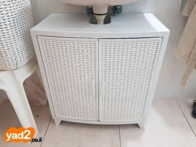 להפליא ארון של כתר מתחת לכיור כלים סניטריים לאמבטיה ולשירותים יד שניה - ad LK-08