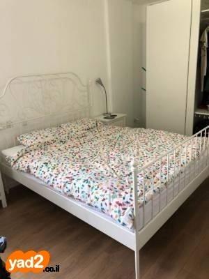 מצטיין מסגרת מיטה IKEA LEIRVIK בצבע ריהוט מיטות יד שניה - ad KC-49