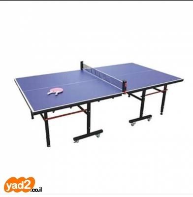 מרענן שולחן פינג-פונג גדול חזק וטוב ספורט שולחנות משחק טניס יד שניה - ad OL-69