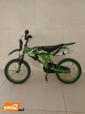 רק החוצה אופניים לילדים בגיל 6-8, אפניים יד שניה - ad RQ-56