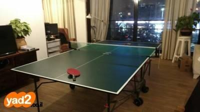 מרענן שולחן פינג פונג Kettler Classic ספורט שולחנות משחק טניס יד שניה - ad TK-24