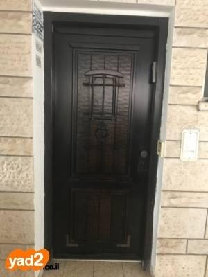 ענק דלת כניסה רב בריח מעוצבת ריהוט דלתות חוץ - פלדה יד שניה - ad NR-59