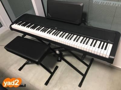 תוספת פסנתר חשמלי KORG B1, כמו כלי נגינה יד שניה - ad DO-81
