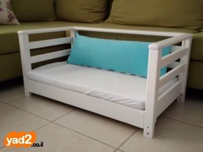 אדיר עריסה מתחברת למיטה והופכת לספה לתינוק ולילד מיטות ולולים יד שניה - ad TH-06
