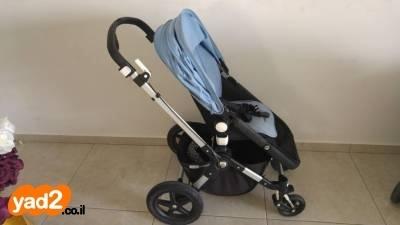 מבריק בוגבו קמיליון 3 בצבע תכלת לתינוק ולילד עגלות ועגלות טיול יד שניה - ad UO-44