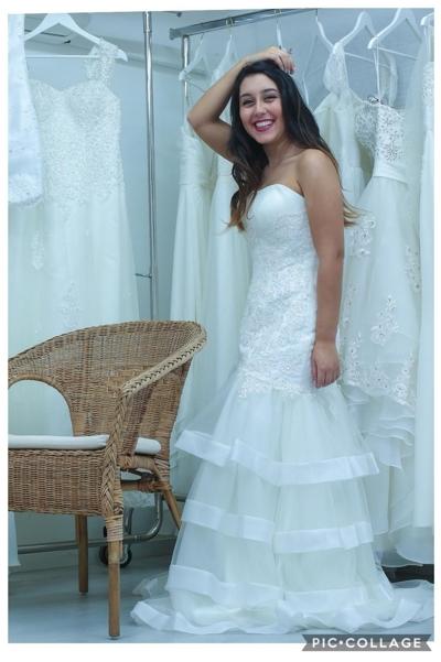 עדכני למכירה - שמלות כלה חדשות ביגוד ואביזרים השכרה יד שניה - ad ZS-09